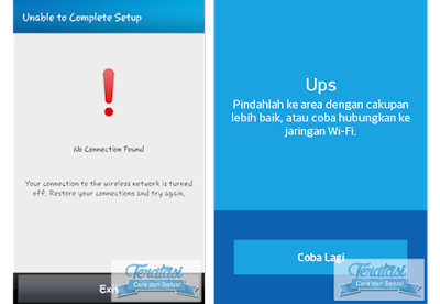 """Cara Mengatasi Koneksi Error Ketika Install BBM di Android, """"Ups, pindahlah ke area dengan cakupan lebih baik, atau coba hubungkan ke jaringan Wi-Fi"""" atau """"Tidak ditemukan koneksi, koneksi anda ke jaringan nirkabel telah dimatikan. Pulihkan koneksi anda dan coba lagi."""""""