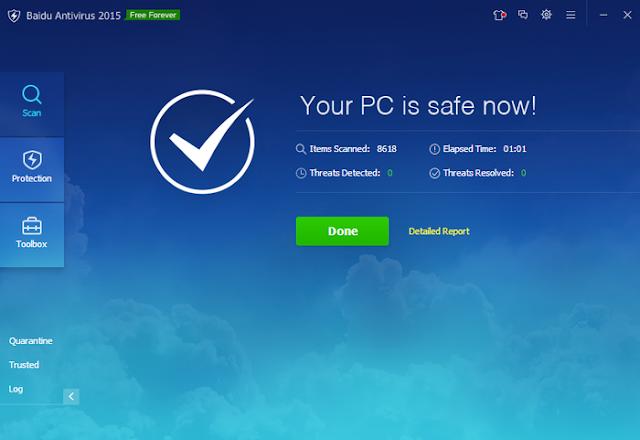 تحميل برنامج بايدو انتي فايروس Download Baidu Antivirus
