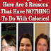 Not Losing Weight Here Are 3 Reasons That Have NOTHING To Do With Calories!