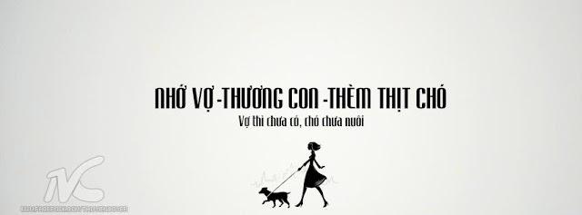 Nhớ vợ thương con thèm thịt chó
