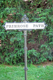 Image result for down the primrose path