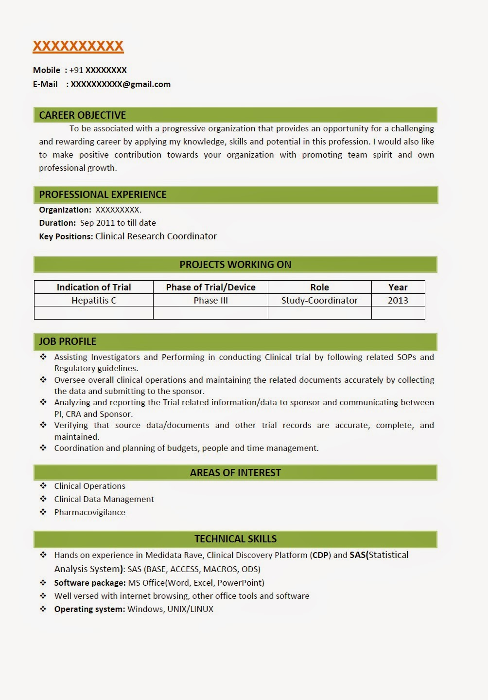 resume format for bsc students professional resignation letter