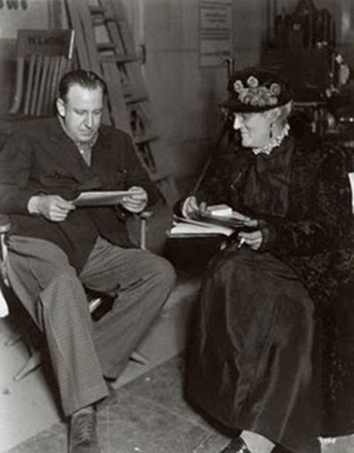 Tod Browning y Lionel Barrymore, reunión de trabajo para The Devil-Doll
