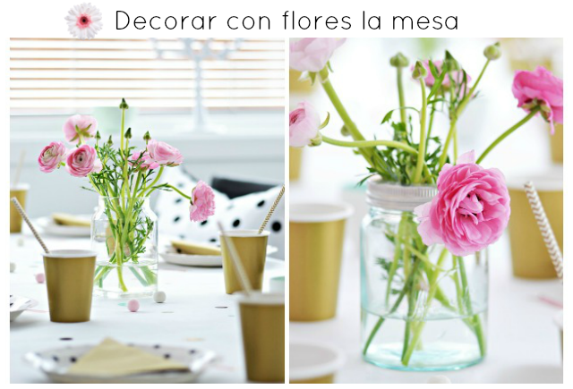 decorar un evento con flores