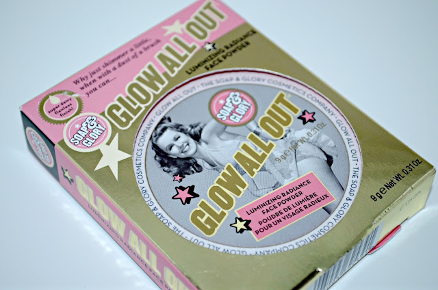 Image of the Soap & Glory highlighter powder packaging