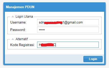 Calon Peserta USBN Di Manajemen PDUN