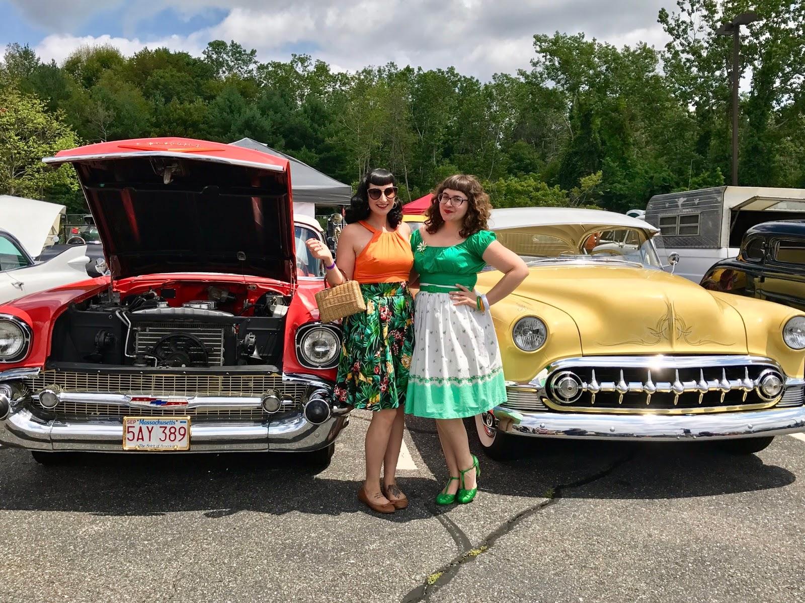 In A Nutshell July - Rockabilly car show las vegas 2018