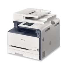 scan too re-create then you lot tin consummate your concern tasks amongst 1 machine Canon imageCLASS MF624Cw Printer Driver Download