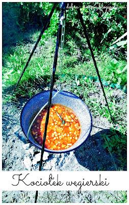 Kociołek węgierski, ognisko, biwak, kociołek, gulasz bogracz, zupa