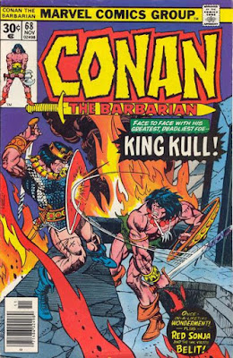 Conan the Barbarian #68, Conan vs Kull