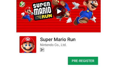 Aplikasi game Super Mario Run versi Android di Google Play Store
