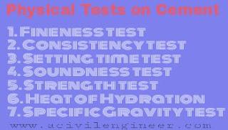 Cement test