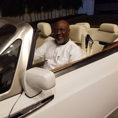 Nigerian Senator, Dino Melaye shows off his Phantom
