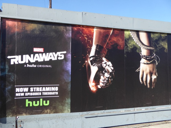 Runaways Chase and Gert posters