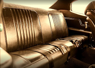 1971 Chevrolet Chevelle Malibu SS Seat Rear