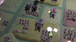The British continue the attack