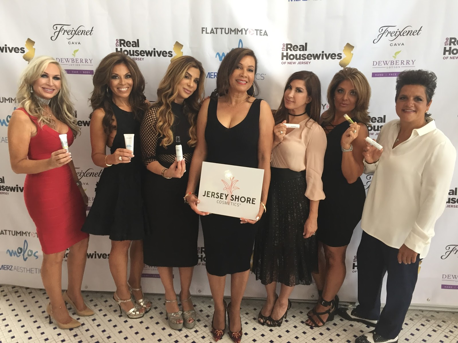 Celebrity favorite jersey shore cosmetics was the title for Where do the real housewives of new jersey live