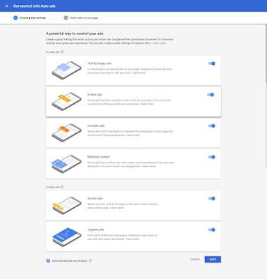 Pengertian Auto Ads Google AdSense dan Pengaruhnya Inilah Pengertian Auto Ads Google AdSense dan Cara Memasangnya di Blog