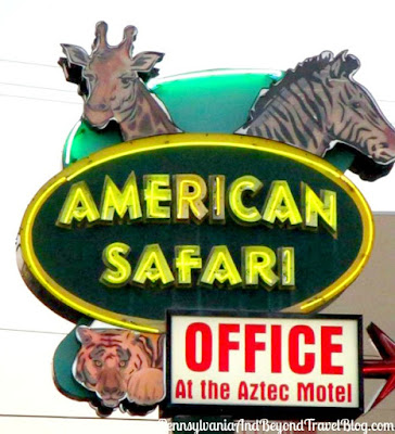 American Safari Motel in Wildwood Crest, New Jersey