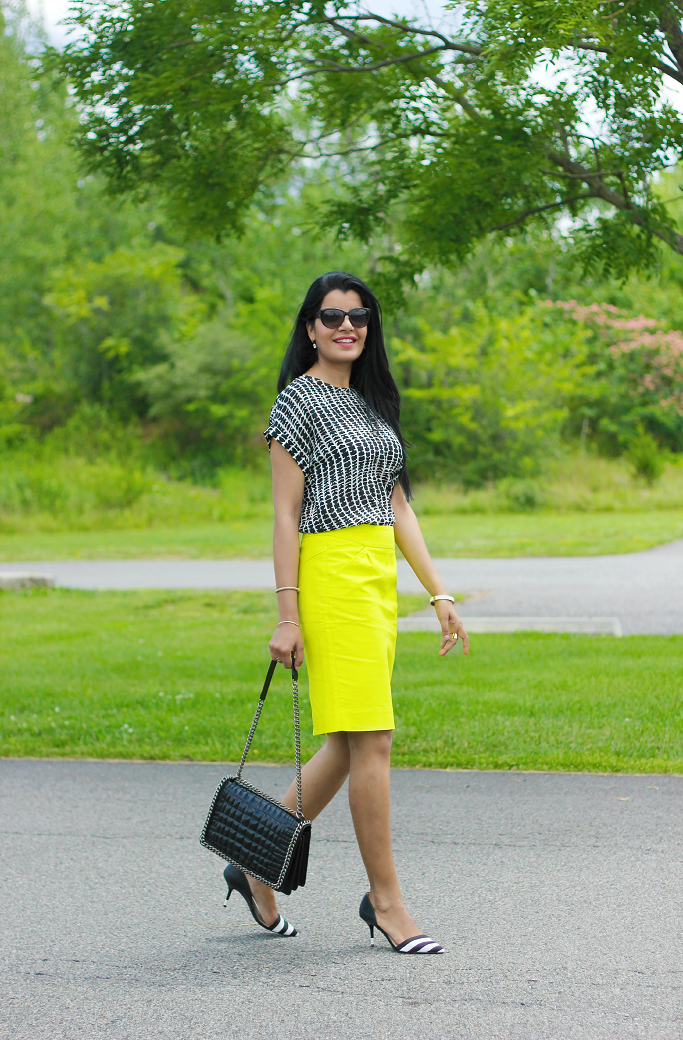 J.Crew Pencil Skirt, JCrew Wool Skirt, JCrew Factory Wool Surge Skirt, Double Serge Wool Skirt, Neon Pencil Skirt