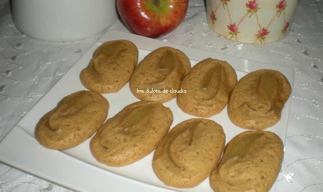 bocados de pure de manzana