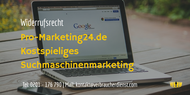 Pro-Marketing24.de – Kostspieliges Suchmaschinenmarketing