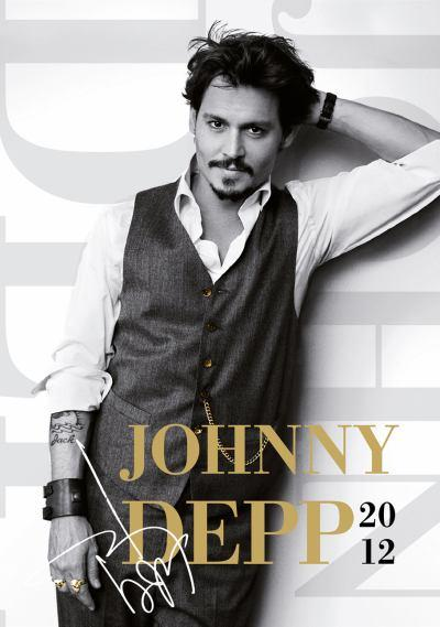 Johnny Depp 2012 Calendar