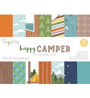 Happy Camper Paper Pad