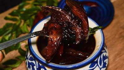 கத்திரிக்காய் ஊறுகாய்  - Brinjal-pickle.