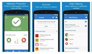 aplikasi antivirus Sophos Mobile Security