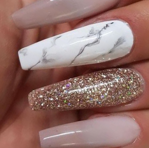 The Best Marble Nail Art