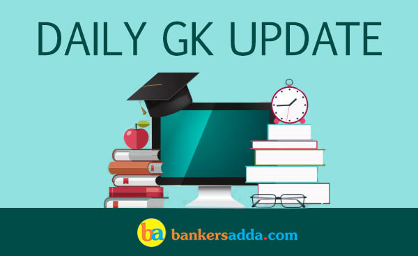 Current Affairs 01st June 2018: Daily GK Update