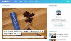 Viomagz Premium AMP Blogger Template Download