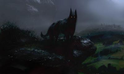 Resultado de imagen de leyenda el perro negro san lorenzo del escorial