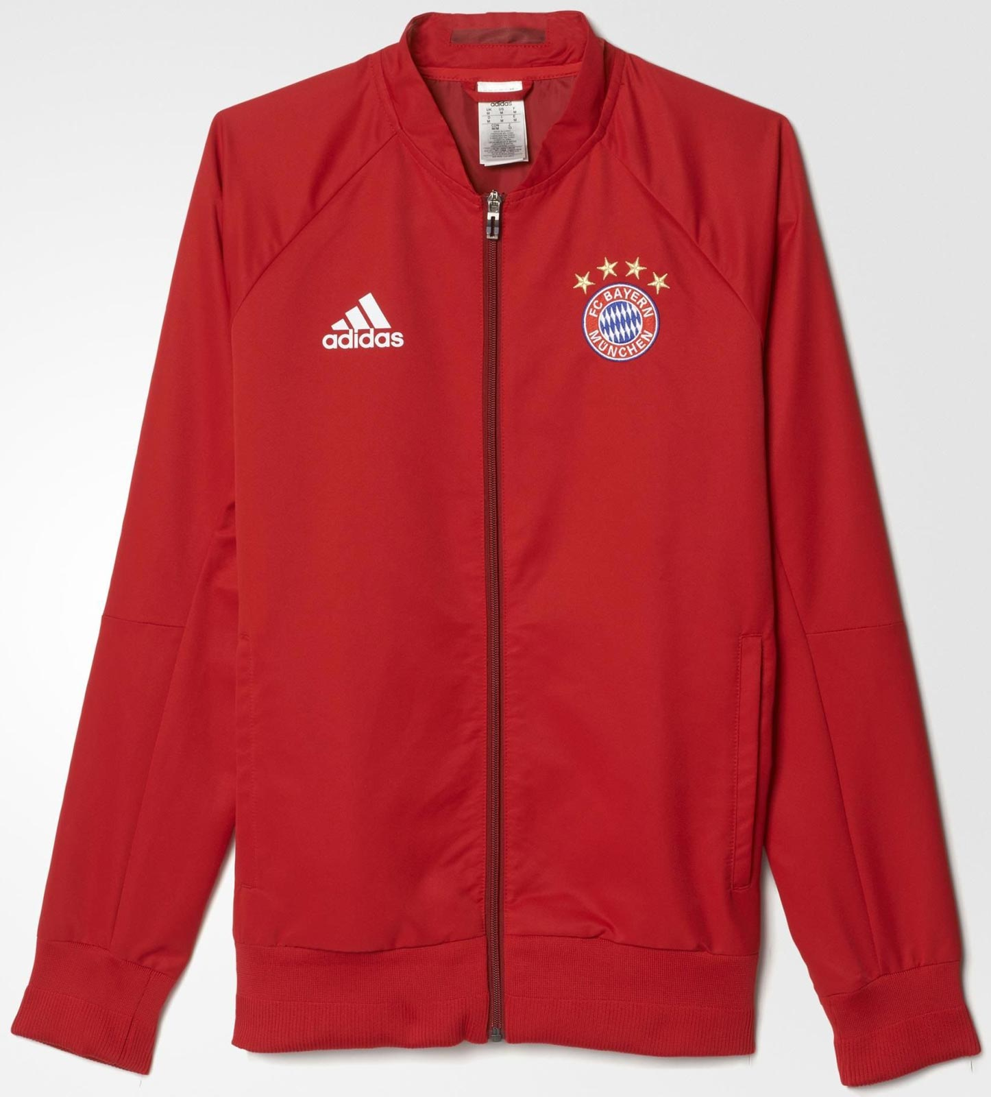 d2949406f5a2 Adidas 2016 Anthem Jackets  Bayern