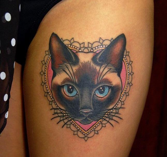 Siamese Cat Tattoos