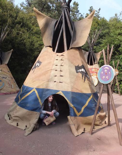 Tokyo Disneyland Tom Sawyers Island Teepee