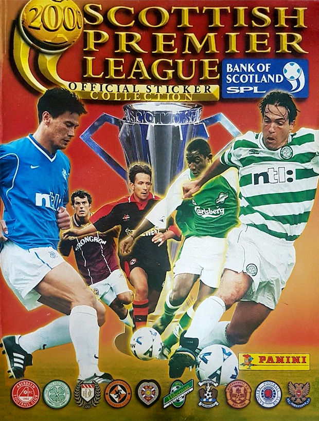 Football cartophilic info exchange panini scotland for Prem league table 99 00