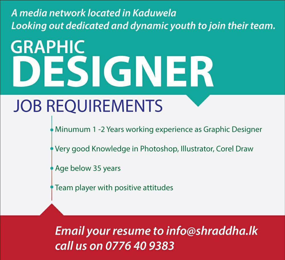 Contoh Job Vacancy Graphic Designer Beserta Application Letternya