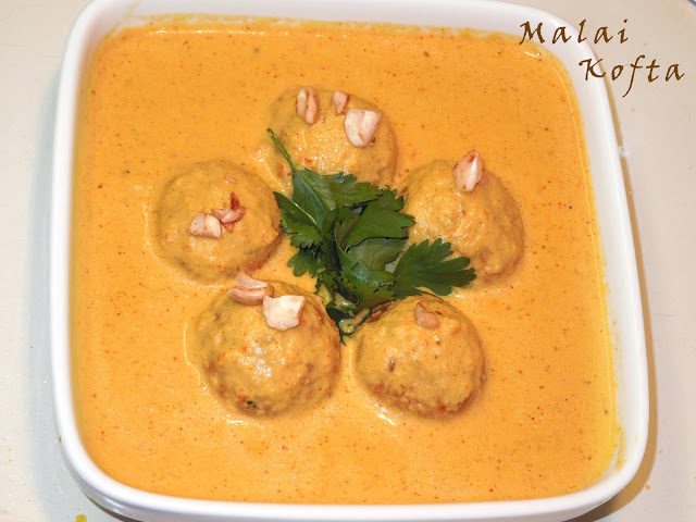 Malai Kofta by veggierecipehouse