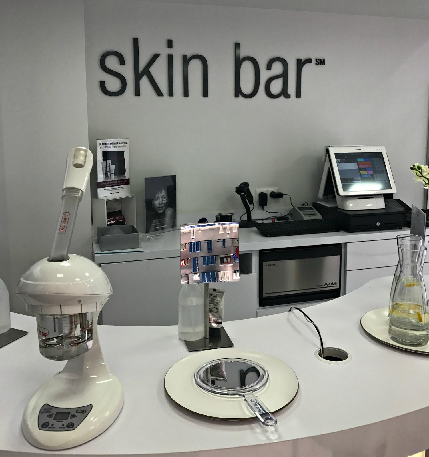 Dermalogica face mapping en skin bar