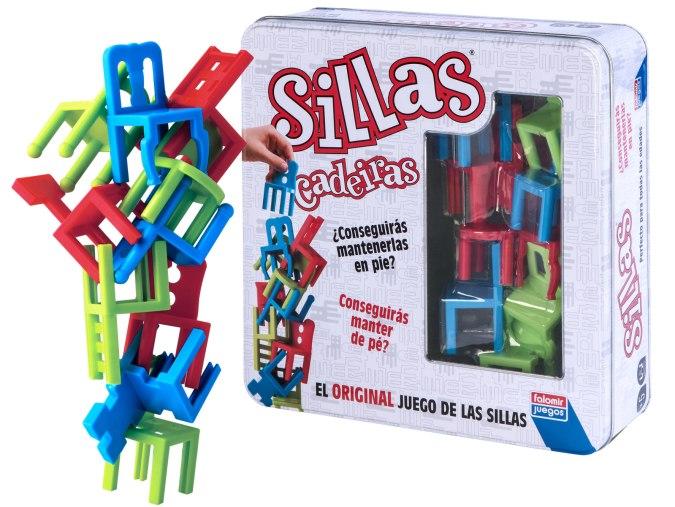 Sillas Colors juego de mesa