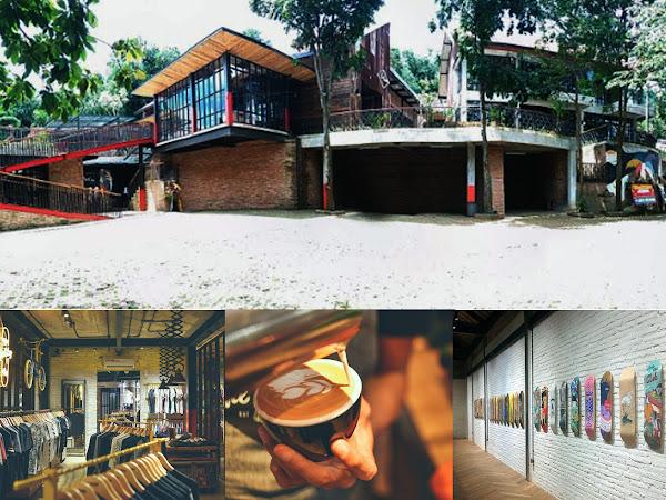 Cafe The Parlor Rancakendal Dago Bandung