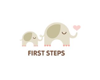 Logotipo inspirado en elefante