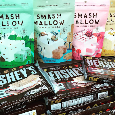 Smashmallows and Hershey Chocolate