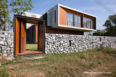 Moderna residencia de estilo Contemporáneo de Tailandia