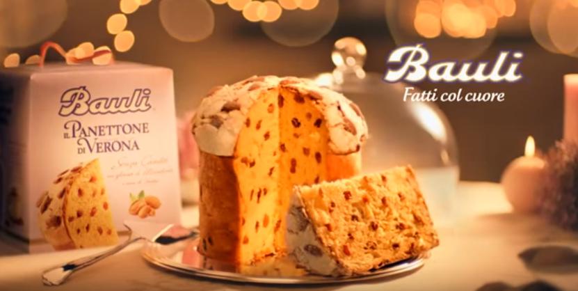 Canzone Bauli pubblicità panettone di Verona - Musica spot Novembre 2016