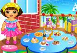 Dora Party Preparing