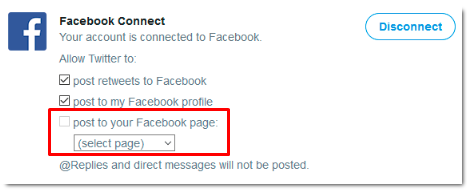 How To Connect Twitter To Facebook Fan Page<br/>