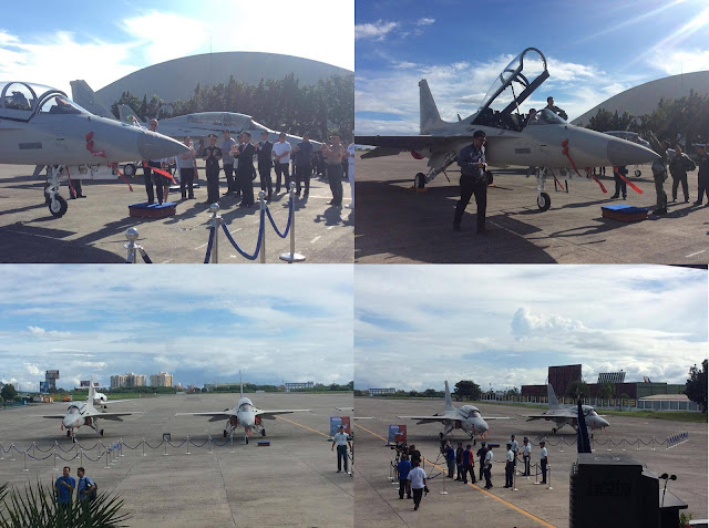 Philippine Air Force Formally Accepts Two Brand New FA-50 Aircraft Fighters.
